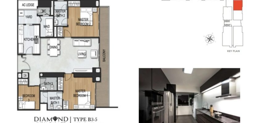 Unit Type 3Bedroom B3-5