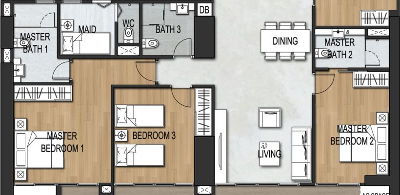 Unit Type 4 Bedroom B4-2