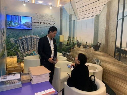 luxury property showcase in shanghai